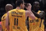 """""""Maccabi"""" pergalė Pirėjuje sumaišė visas kortas Eurolygos F grupėje"""