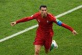 Dramatiškose Portugalijos ir Ispanijos lygiosiose – trys C.Ronaldo įvarčiai bei įspūdinga Nacho bomba