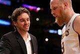 """Fynikso ekipos pergalių seriją nutraukė Ch.Kamano vedamas """"Lakers"""" klubas"""