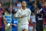 """Futbolo pasaulio žmonių mintys apie """"Ballon d'Or"""" finalininkus"""