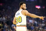 "Susirgęs S.Curry praleido ""Warriors"" rungtynes"