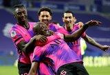 """""""Lyon"""" nugalėjęs PSG klubas pakilo į """"Ligue 1"""" čempionato turnyrinės lentelės viršūnę"""