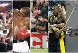 """Kai sporto žvaigždės """"pameta galvas"""": 10 atvejų, kai kilo visiškas chaosas"""