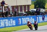 Daugiau nei 100 tūkst. žiūrovų akivaizdoje – vietinio herojaus V.Rossi tragedija ir stebuklinga J.Lorenzo pergalė