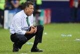 Meksikos rinktinė liko be trenerio