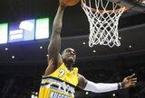 """NBA suspendavo """"Nuggets"""" aukštaūgį"""