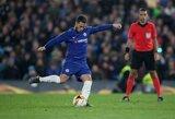 """Anglijos spauda: """"Chelsea"""" sutiko parduoti E.Hazardą"""