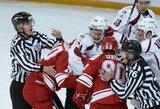 """Rygos """"Dinamo"""" savo arenoje neprilygo absoliučiam KHL lyderiui (+ kiti rezultatai)"""