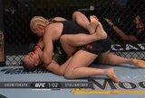 UFC medikų išvados: J.Kunickaja gali būti suspenduota pusmečiui, J.Stoliarenko nenukentėjo