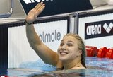 Ilgai lauktas auksas: R.Meilutytė triumfavo Slovakijoje