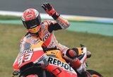 40 min. nukeltose Čekijos GP lenktynėse – M.Marquezo pergalė