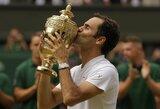 Vimbldono karalius: 10 įspūdingų R.Federerio rekordų