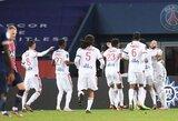 """""""Lyon"""" išvykoje patiesė PSG futbolininkus"""