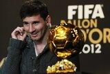 """Paskelbtas 23 futbolininkų sąrašas kovosiantis dėl """"Ballon d'Or"""""""