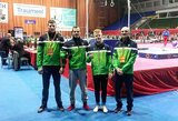 R.Guščinas Ukrainoje iškovojo bronzą, dvi lietuvės dalyvavo meninės gimnastikos varžybose Latvijoje