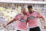 """""""Juventus"""" įveikė D.Kazlausko klubą tik paskutinėmis minutėmis"""