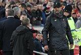 """J.Kloppas pareiškė užuojautą atleistam J.Mourinho: """"Jis yra neįtikėtinas treneris"""""""