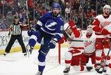 Paaiškėjo NHL atkrintamųjų varžybų poros, N.Kučerovas pagerino 26 metus gyvavusį rusų rekordą