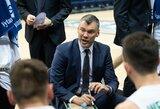 """Š.Jasikevičius: """"M.Grigonis pataikė visas pirmas opcijas ir davė komandai impulsą"""""""