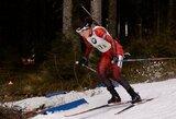 N.Kočergina olimpinėje trasoje pateko į pasaulio biatlono taurės persekiojimo lenktynes