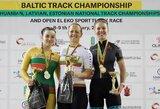 Baltijos treko čempionate dominavo Lietuvos dviratininkai