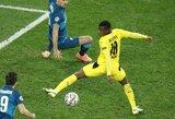 """""""Borussios"""" talentas tapo jauniausiu žaidėju UEFA Čempionų lygos istorijoje"""