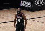"""Dalis """"Nets"""" krepšininkų nepalaiko galimo J.Hardeno atvykimo"""