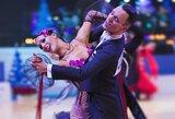 Šokėjai V.Lacitis ir V.Golodneva tapo pasaulio taurės varžybų vicečempionais