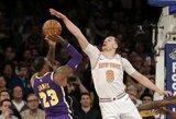 """M.Hezonja blokavo """"Lakers"""" pergalę galėjusį lemti L.Jameso metimą"""