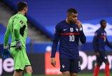 Pasaulio čempionai atranką pradėjo lygiosiomis su Ukrainos futbolininkais