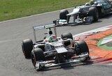 """""""Formulės 1"""" komandos vėl svarstys biudžeto lubų įvedimo idėją"""