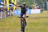 Lietingame MTB dviračių maratonų taurės etape Vilniuje lyderiai nepasikeitė