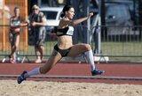 Įspūdinga: trišuolininkė D.Zagainova pagerino Lietuvos rekordą ir pateko į Tokijo olimpiadą!