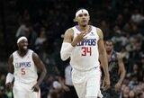 """T.Harriso vedama """"Clippers"""" nutraukė pralaimėjimų seriją"""