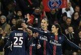"""PSG neturėjo vargo ir """"Lyon"""" klubui atseikėjo penkis įvarčius"""