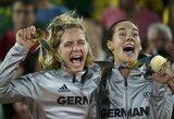 Drama olimpiados medalių įskaitoje – kinai pavijo britus, vokiečiai – rusus