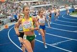 """""""Deimantinės lygos"""" varžybose Ciuriche E.Balčiūnaitė laimėjo neįskaitinį 800 m bėgimą"""