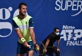 ATP 250 turnyras Sardinijos saloje baigėsi L.Djere triumfu