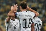 Tautų lyga: Vokietijos ir Ispanijos rinktinės iškovojo pergales