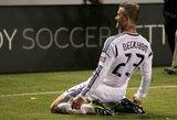 """D.Beckhamas """"Samsung"""" reklamoje kojomis grojo Bethoveno """"Odę džiaugsmui"""""""
