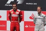 "M.Schumacheris: ""F.Alonso nusipelnė trečiojo čempiono titulo"""