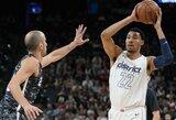 """""""Wizards"""" puolėjas praleis likusią seriją su """"Raptors"""" klubu"""
