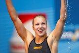 Tarp didžiųjų šalių: pasaulio jaunimo plaukimo čempionato medalių įskaitoje Lietuva užėmė 4-ą vietą