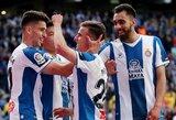 """""""Espanyol"""" namuose sutriuškino """"Atletico"""" futbolininkus"""