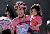 """Dalį persvaros praradęs R.Carapazas pirmą kartą tapo """"Giro d'Italia"""" čempionu"""