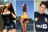 """Tenisininkė po dvigubo """"riestainio"""" baigė karjerą ir tapo """"Playboy"""" modeliu"""