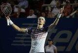 R.Nadalis Meksikoje žengė į ketvirtfinalį, A.Zverevas netikėtai suklupo