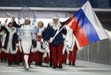 Rusija pašalinta iš 2018 m. olimpiados su viena išlyga (papildyta)