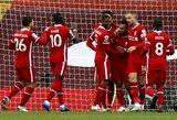 "88-ąją minutę 11 m baudinį realizavęs M.Salah išplėšė ""Liverpool"" pergalę prieš ""Leeds Utd"""