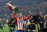"""Pirmą trofėjų paskutinėse rungtynėse """"Atletico"""" gretose laimėjęs F.Torresas: """"Tai yra fantastiška pabaiga"""""""